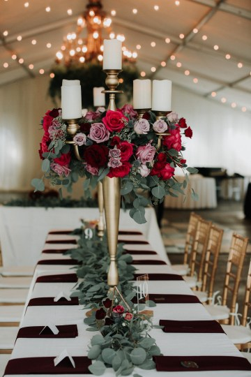 Classic Romance; A Heartfelt Wedding Filled With Red Roses | T & K Photography 69