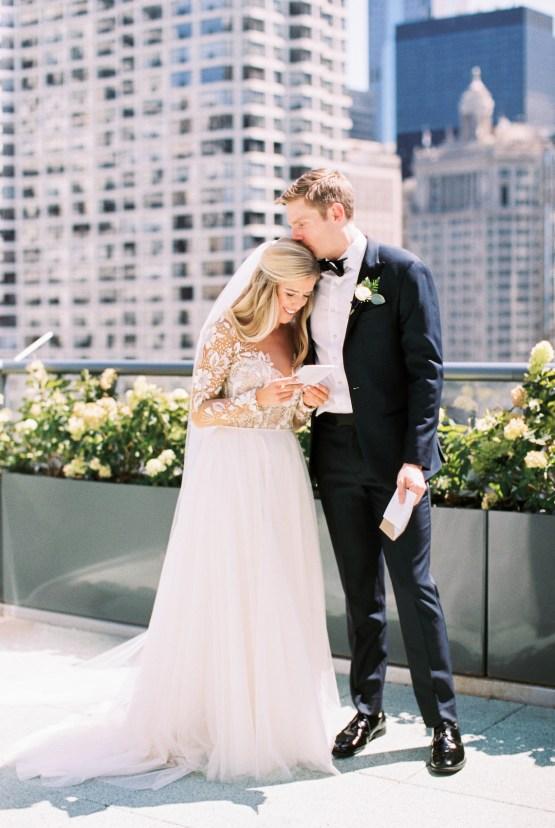 Gorgeous Chicago Ivy Room Wedding   Kristin La Voie Photography 28
