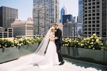 Gorgeous Chicago Ivy Room Wedding | Kristin La Voie Photography 4