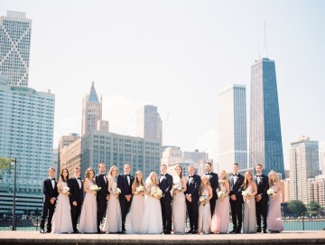 Gorgeous Chicago Ivy Room Wedding | Kristin La Voie Photography 5