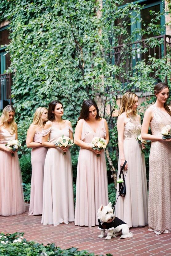 Gorgeous Chicago Ivy Room Wedding   Kristin La Voie Photography 59