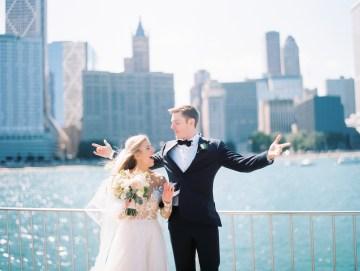 Gorgeous Chicago Ivy Room Wedding | Kristin La Voie Photography 7