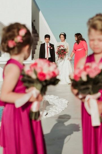 Intimate & Luxurious Cliffside Santorini Wedding   Stella and Moscha   Nikos Gogas 10