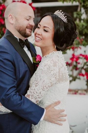 Intimate & Luxurious Cliffside Santorini Wedding   Stella and Moscha   Nikos Gogas 16