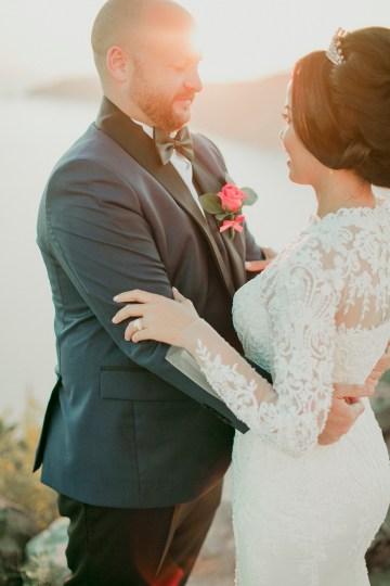 Intimate & Luxurious Cliffside Santorini Wedding   Stella and Moscha   Nikos Gogas 20