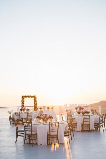 Intimate & Luxurious Cliffside Santorini Wedding   Stella and Moscha   Nikos Gogas 23