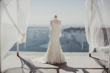 Intimate & Luxurious Cliffside Santorini Wedding   Stella and Moscha   Nikos Gogas 36