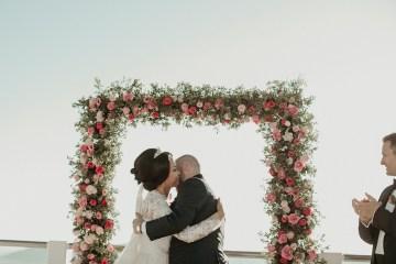 Intimate & Luxurious Cliffside Santorini Wedding   Stella and Moscha   Nikos Gogas 41