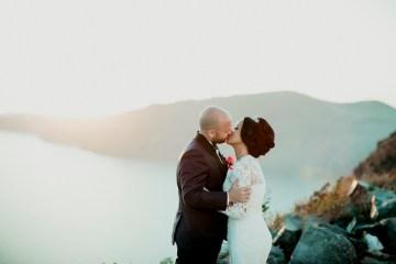 Intimate & Luxurious Cliffside Santorini Wedding   Stella and Moscha   Nikos Gogas 53