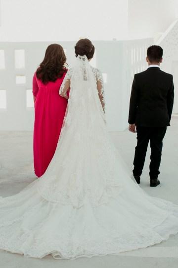 Intimate & Luxurious Cliffside Santorini Wedding   Stella and Moscha   Nikos Gogas 9