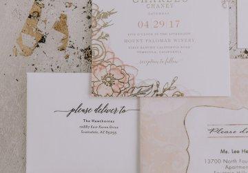 Lavish & Luxe California Winery Wedding | Amy Lynn Photography | Lyons Events 1