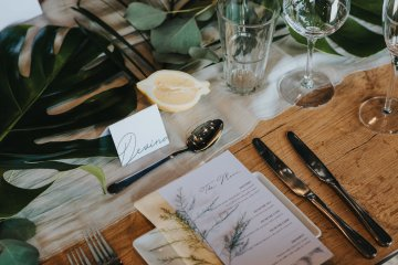 Modern Industrial London Wedding Inspiration With Succulents | Remain in the Light Photography 32