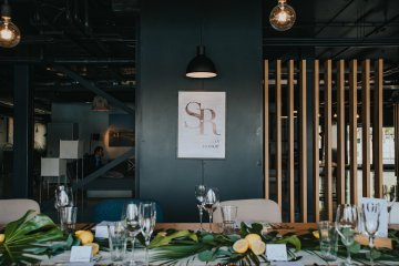 Modern Industrial London Wedding Inspiration With Succulents | Remain in the Light Photography 33
