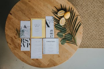 Modern Industrial London Wedding Inspiration With Succulents | Remain in the Light Photography 38