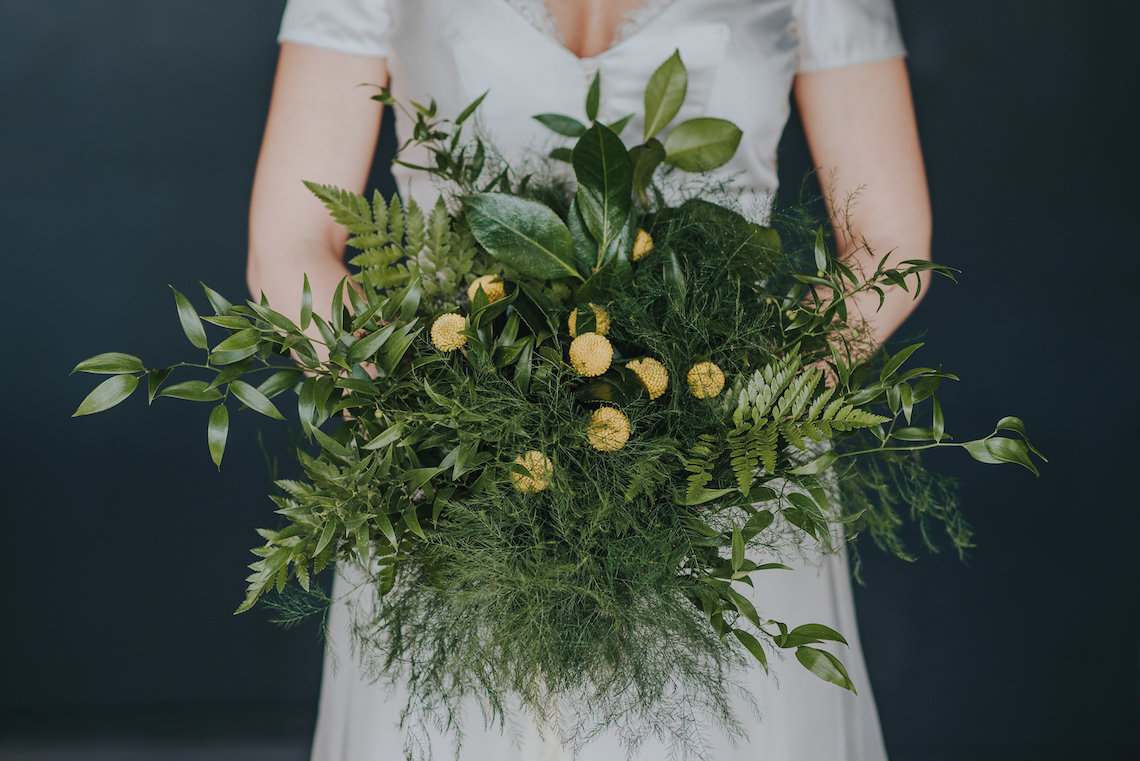 Modern Industrial London Wedding Inspiration With Succulents   Remain in the Light Photography 42