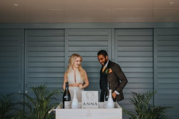 Modern Industrial London Wedding Inspiration With Succulents | Remain in the Light Photography 57
