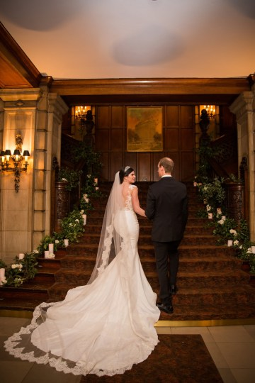 Practically Royal Luxe Chicago Cathedral Wedding | Christina G Photography | LOLA Event Productions 52