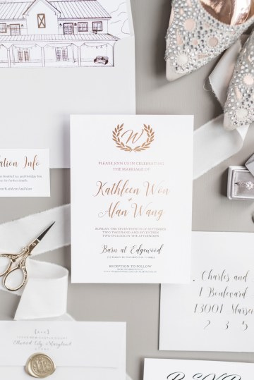 Pretty Pink DIY Barn Wedding With Loads Of Calligraphy Ideas | Audrey Rose Photography 16