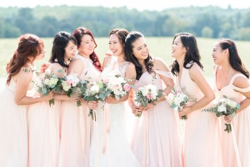 Pretty Pink DIY Barn Wedding With Loads Of Calligraphy Ideas | Audrey Rose Photography 2