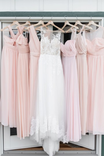 Pretty Pink DIY Barn Wedding With Loads Of Calligraphy Ideas | Audrey Rose Photography 27