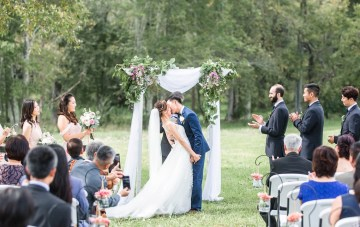 Pretty Pink DIY Barn Wedding With Loads Of Calligraphy Ideas