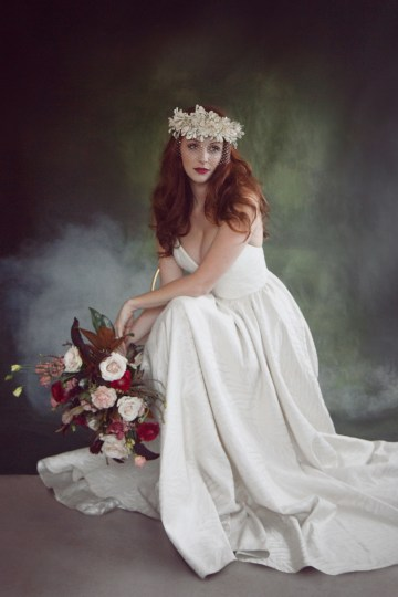Rose Gold; Romantic Wedding Ideas With Stunning Headpieces | Flavelle & Co 14