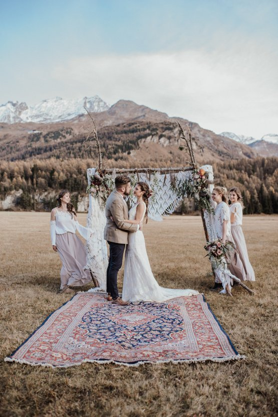 Southwestern Boho Wedding Inspiration In The Swiss Alps | Jaypeg Photogaphy 51