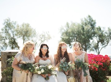 Sparkling Pink & Gold California Wedding | Haley Richter Photography 13