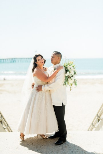 Sparkling Pink & Gold California Wedding | Haley Richter Photography 44