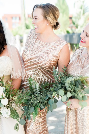 Sparkling Pink & Gold California Wedding | Haley Richter Photography 48