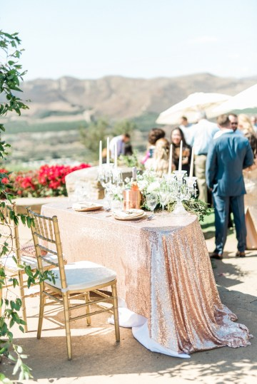 Sparkling Pink & Gold California Wedding | Haley Richter Photography 66