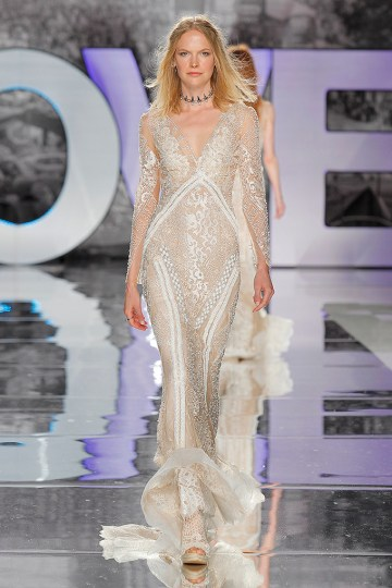 The Sexy & Embellished New Yolan Cris Wedding Dress Collections   COLIMA (2)
