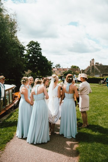 Totally Chic English Wedding With A Sweet Boat Ride   Oak & Blossom 1