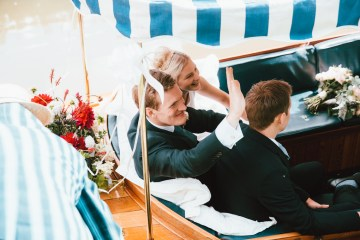 Totally Chic English Wedding With A Sweet Boat Ride   Oak & Blossom 28