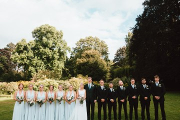 Totally Chic English Wedding With A Sweet Boat Ride   Oak & Blossom 35