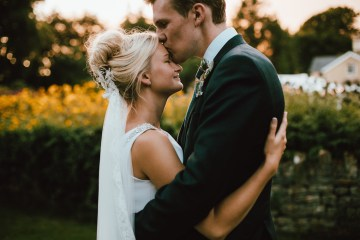 Totally Chic English Wedding With A Sweet Boat Ride   Oak & Blossom 41