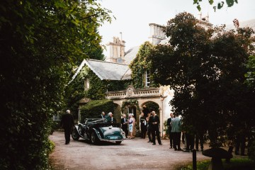 Totally Chic English Wedding With A Sweet Boat Ride   Oak & Blossom 44