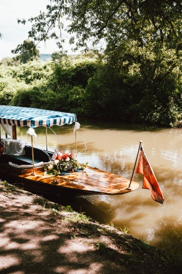 Totally Chic English Wedding With A Sweet Boat Ride   Oak & Blossom 6