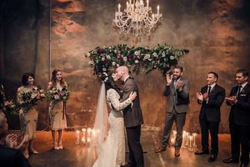 Edgy & Romantic Distillery Wedding | AGI Studio 13