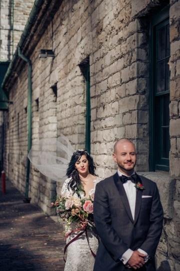 Edgy & Romantic Distillery Wedding | AGI Studio 26