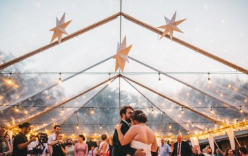 Epic Forest Food Truck Wedding (With The Sweetest Father Daughter Moment)