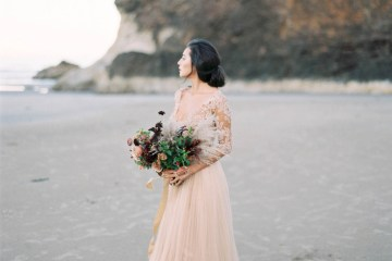 Ethereal Pacific Northwest Beachy Wedding Inspiration   Jessica Lynn Photography 1