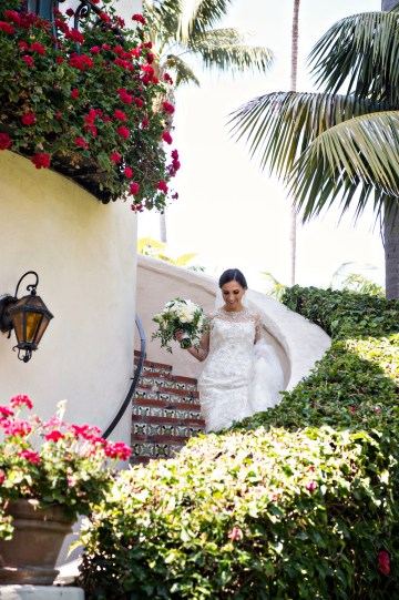 Glamorous Santa Barbara Wedding (With The Sweetest Flower Girl!)   Laurie Bailey Photo 25