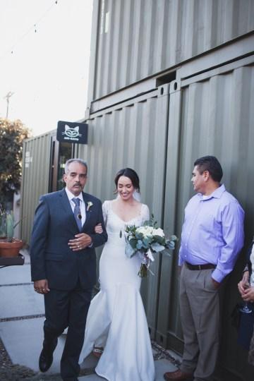 Modern Hip Taco Wedding In A Funky Gallery Venue   Claire Eliza 10