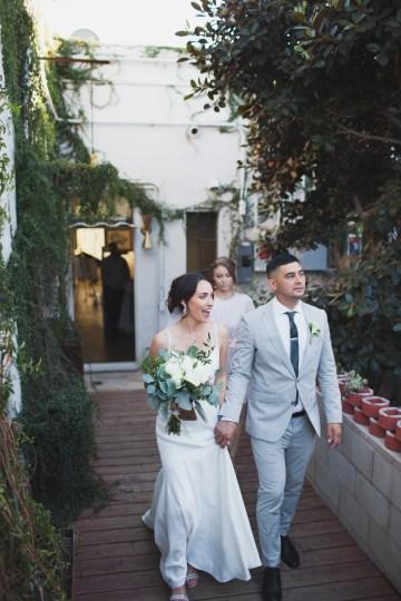 Modern Hip Taco Wedding In A Funky Gallery Venue | Claire Eliza 30