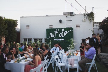 Modern Hip Taco Wedding In A Funky Gallery Venue | Claire Eliza 40