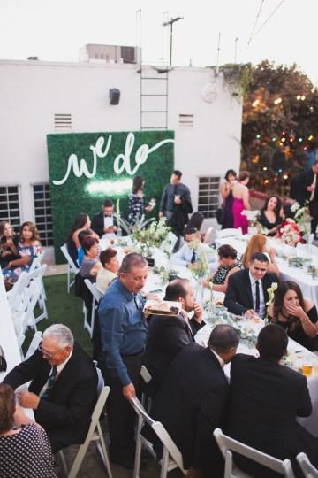 Modern Hip Taco Wedding In A Funky Gallery Venue | Claire Eliza 49