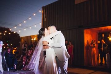Modern Hip Taco Wedding In A Funky Gallery Venue | Claire Eliza 53