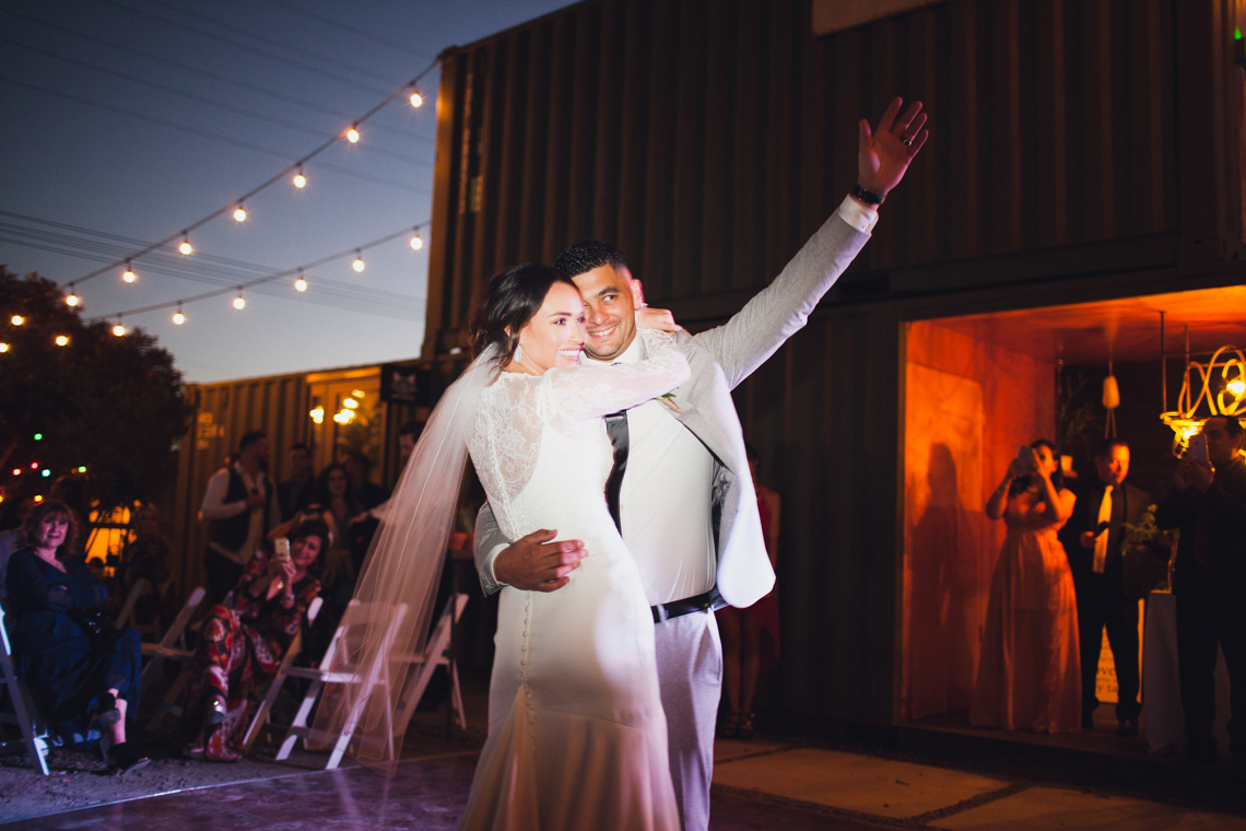 Modern Hip Taco Wedding In A Funky Gallery Venue | Claire Eliza 54