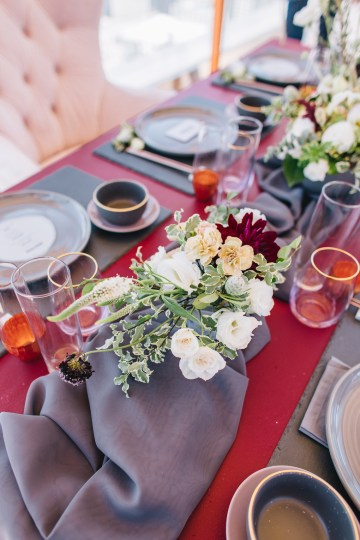 Modern Japanese Inspired Rooftop Wedding Inspiration (With Sushi & Uni, Yum!) | CCL Events | Christine Farah Photography 17